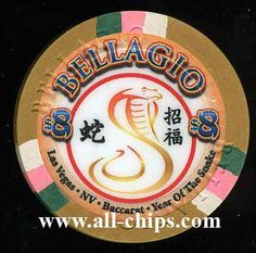 want a $8 Bellagio Chinese New year of the Snake chip?  You can order one here http://www.all-chips.com/ChipDetail.php?ChipID=16410