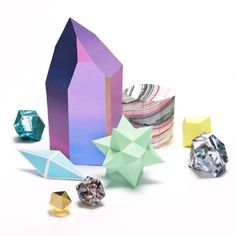 Faceted Paper Works By Artist Lydia Shirreff | Trendland: Design Blog & Trend Magazine