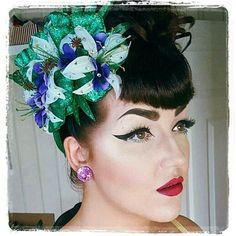 White Hydrangea Flower Crown Hair Head Band Piece Choochie Ascot Races Wedding