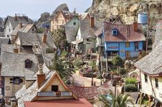 simple blog: Beautiful day in the magical Popeye Village.