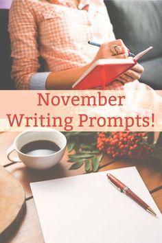 30 November Writing