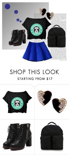 Moonbucks✌️ by lizzy-wheeler on Polyvore featuring adidas Originals, Yves Saint Laurent, women's clothing, women's fashion, women, female, woman, misses, juniors and skirt