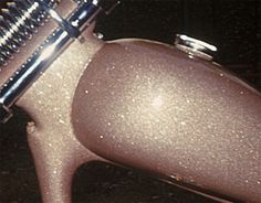pink champagne metal flake