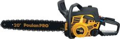 """Poulan Pro PP5020AV 20"""" 50cc 2 Cycle Gas Powered Chainsaw Home/Tree Chain Saw"""
