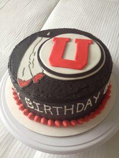 University Of Utah Cake