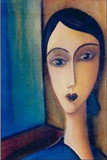 Ma femme idéale a le silence dans l'oeil, Silence pudique criant de pureté, Mais un tambour au coeur d'une gaie rareté; Un pressentiment de vie ardente et sans deuils.