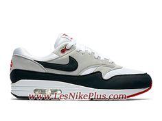 finest selection 4a603 cf37a Sneaker Nike Air Max 1 OG Obsidian Chaussures Nike Officiel Pas Cher Pour  Homme Noir Blanc
