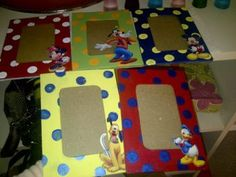 DIY Disney Picture Frames