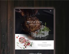 "Check out new work on my @Behance portfolio: ""Food website""…"