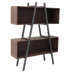 Wooden Shelf Furniture - Shelves - Bookshelves - FURNITURE - inart