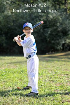 Mason 6yrs. old Northwest Little League...my lil slugger