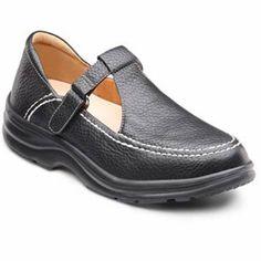 ea2511b26c0b Dr. Comfort Lu Lu Women s Therapeutic Diabetic Extra Depth Shoe leather  velcro T Strap Shoes