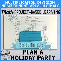 Project Based Learning: Plan a Holiday Party