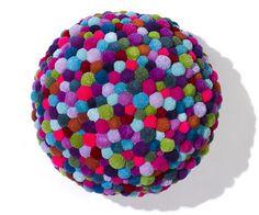 Lindo colorido de bricolaje Pom Pom manualidades e ideas [vídeo incluida]