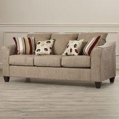 Three Posts Serta Upholstery Oppenheim Sofa & Reviews   Wayfair