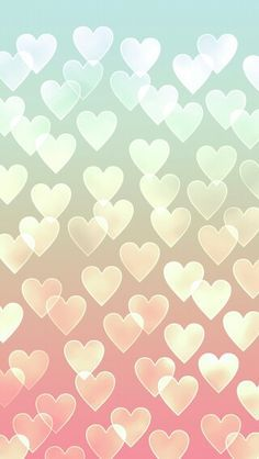 Hearts Phone background #wallpaper