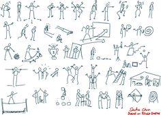 body language sketchnotes
