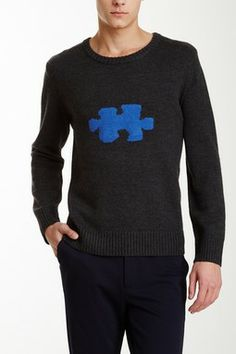 fadd857db6f3 Cole Puzzle Piece Wool Sweater