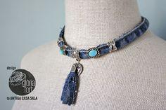 Jeans necklace _ glòria fort