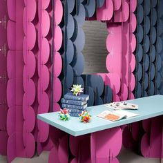 Wonderful Modular Decorative Screens Made With Cardboard Pieces Offer Light And  Practical Room Dividers Which Can Add