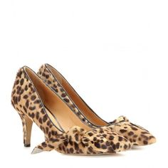 Isabel Marant Pealman Printed Calf Hair Pumps ($660) ❤ liked on Polyvore featuring shoes, pumps, brown, isabel marant, brown shoes, haircalf shoes, isabel marant pumps and isabel marant shoes