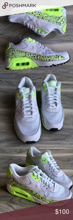 Nike air max neon sneakers NWOT Nike air max neon brand new NWOT. Never worn, only tried on. Perfect condition. Super cute and bright. Nike Shoes Sneakers