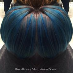 The only thing that's blue in our salon on a Monday is hair! #blueMonday #mondaymotivation #bluehair #kayandkompany #hair #London #n10 #n8 #n22 #n11 #hairdresser #muswellhill #northlondon #hairstyles #haircolour #bluehighlights #bluehairdontcare #salonthatcares #hairbesties