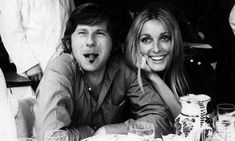 Film director Roman Polanski and his wife Sharon Tate* in 1965, four years…