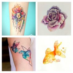 BODY MOD | WATERCOLOUR TATTOOS - The Big Megowski