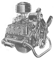 Flathead Specifications: 1949-53 V8