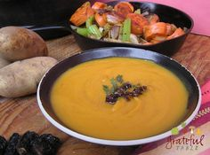 Chipotle Potato Soup, Using Dried Chipotles, No Canned Stuff | Grateful Table