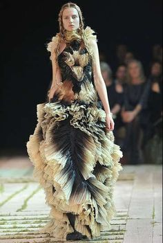 Majestic Fairytale Fashion  Sarah Burton's Debut Alexander McQueen SS11 Collection