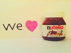 Love is nutella.