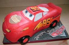 Cars theme birthday cakes - Birthday Cakes