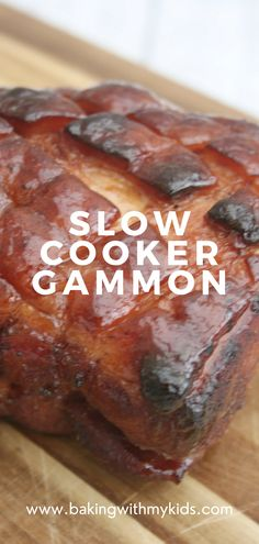 Slow cooker gammon in coke is the easiest dinner you can make but perfect for a special occaision. The coke adds a delicious sweetness that balances the saltiness of the gammon making it a hit for all the family. Why not make it this year for Christmas dinner. #ham #gammon #joint coca cola #recipe #easy recipe #christmas dinner #easy #honey # Coca Cola Ham, Coke Ham, Quick Weeknight Dinners, Easy Family Dinners, Easy Meals, Gammon In Coke, Slow Cooked Gammon, Gammon Recipes, Gammon Joint
