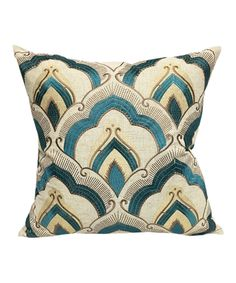 26 x 26 Square Floor Pillow Kess InHouse Heidi Jennings Umbrella Multicolor