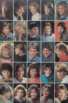 1978 high school hairstyles, in the yearbook of Flathead High School in Kalispell, Montana. High School Hairstyles, 1970s Hairstyles, Yearbook Staff, High School Yearbook, Yearbook Pictures, 80s Hair, Tapas, Hair Reference, Teenage Years