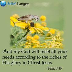 We serve an awesome God!