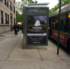 Spotted on 86th St. & CPW – the bus stop billboard for Park Hill, Manhattan Valley's newest rental development on CPW between 107/108th Streets. Exclusive leasing and marketing by Bohemia Realty Group, the #1 firm in Upper Manhattan!  Learn more about Bohemia at: www.bohemiarealtygroup.com