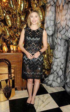 Elizabeth Olsen at the Mulberry After-Party  #elizabetholsen #mulberry