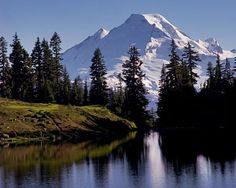 Mt Baker, Washington I spent a lot of time on this mountain hiking with my family and skiing. I was blessed to see the sunrise over Mt Baker on clear mornings for 35 years of my life while I lived in Lynden. Washington State, Mt Baker Washington, Lynden Washington, Bellingham Washington, Great Places, Beautiful Places, Places To Visit, Beautiful Scenery, Evergreen State