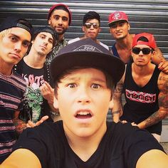 Justice crew and jai. On their #hypetour I went and saw them they were amazing!!!