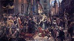 Konstytucja 3 Maja 1791 roku – obraz Jana Matejki powstawał od stycznia do października 1891. W maju prace nad nim były jednak tak zaawansowane, iż możliwe było pokazanie płótna na jubileuszowej wystawie w Sukiennicach z okazji 100 rocznicy uchwalenia konstytucji. Obraz posiada wymiary 247 × 446 cm, obecnie znajduje się w zbiorach Zamku Królewskiego w Warszawie.