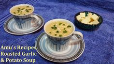 #RoastedGarlic #PotatoSoup #Soups