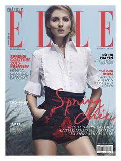 Olivia Palermo by An Le for Elle Vietnam April 2015
