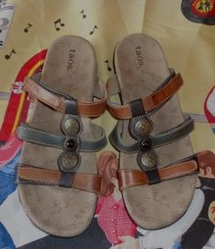 0191bfd00d77 Taos Footwear Sandals - Up to 90% off at Tradesy