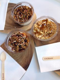 Chobani Soho creations