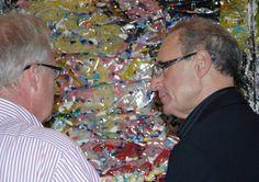"""Simon Raab """"Sycophantic Joy"""" 2009 www.parleau.com #simonraan #parleau #artist #art #exhibition Paper Art, Sculpture, Couple Photos, Couples, Wall, Couple Shots, Couple Pics, Sculpting, Couple Photography"""