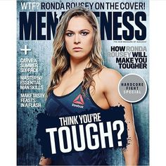 Thank you @mensfitnessau for making me the first woman on your cover!!  #UFCMelbourne