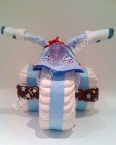 Image Detail for - . Bicycle Diaper Cake baby boy girl baby shower gift ideas _commercial by Casie Ponton Fiesta Baby Shower, Baby Shower Fun, Baby Shower Cakes, Shower Party, Baby Shower Parties, Baby Showers, Girl Shower, Shower Favors, Diaper Bike